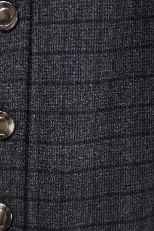 GlenCheckHighWaistSkirtグレンチェック起毛スカート大人カジュアルに最適な海外ファッションのothers(その他インポートアイテム)のボトムやスカート。人気のグレンチェックが目を引くハイウエストスカート。しっとりソフトな起毛ツイードでグレンチェック。/main-15
