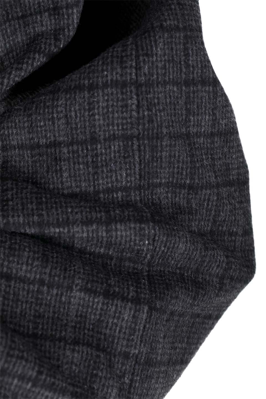 GlenCheckHighWaistSkirtグレンチェック起毛スカート大人カジュアルに最適な海外ファッションのothers(その他インポートアイテム)のボトムやスカート。人気のグレンチェックが目を引くハイウエストスカート。しっとりソフトな起毛ツイードでグレンチェック。/main-16