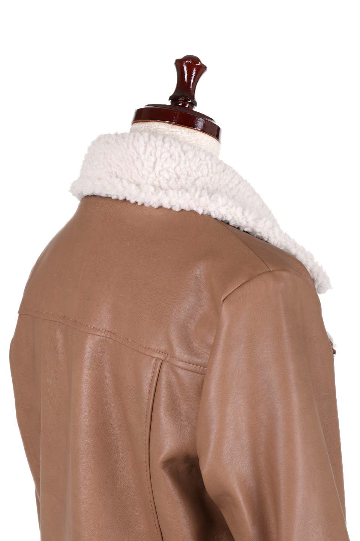 FauxShearlingBikerJKTボア付ライダースジャケット大人カジュアルに最適な海外ファッションのothers(その他インポートアイテム)のアウターやジャケット。裏ボアが嬉しいダブル襟のライダースジャケット。もはや定番となった人気のライダースジャケットを裏ボアにした暖かバージョン。/main-12