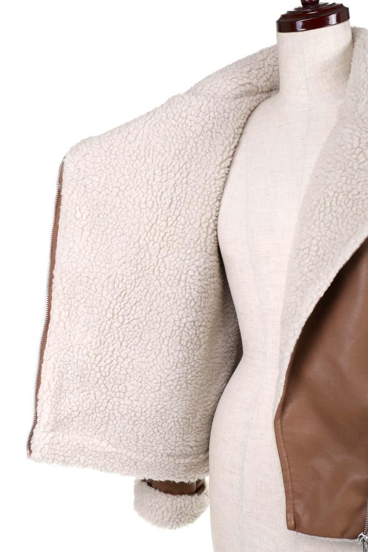 FauxShearlingBikerJKTボア付ライダースジャケット大人カジュアルに最適な海外ファッションのothers(その他インポートアイテム)のアウターやジャケット。裏ボアが嬉しいダブル襟のライダースジャケット。もはや定番となった人気のライダースジャケットを裏ボアにした暖かバージョン。/main-15