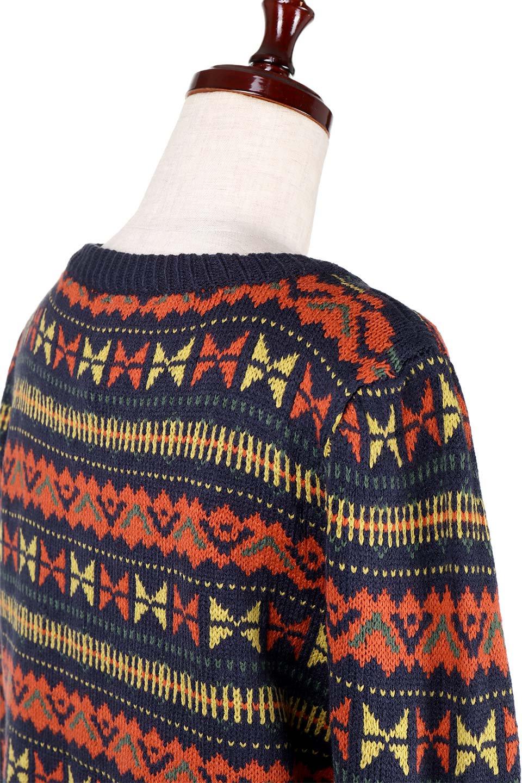 L.A.直輸入のGeometryV-kneckSweaterジオメトリーVネックセーター大人カジュアルに最適な海外ファッションのothers(その他インポートアイテム)のトップスやニット・セーター。ネイティブ調の幾何学模様のジャカードセーター。ユッタリ目の大きさなのでインナーを着ても余裕があるサイズ感です。/main-10