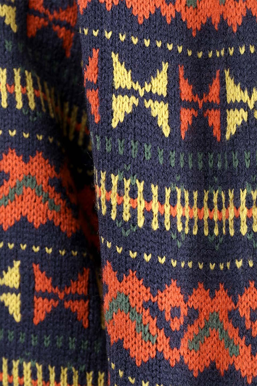 L.A.直輸入のGeometryV-kneckSweaterジオメトリーVネックセーター大人カジュアルに最適な海外ファッションのothers(その他インポートアイテム)のトップスやニット・セーター。ネイティブ調の幾何学模様のジャカードセーター。ユッタリ目の大きさなのでインナーを着ても余裕があるサイズ感です。/main-13