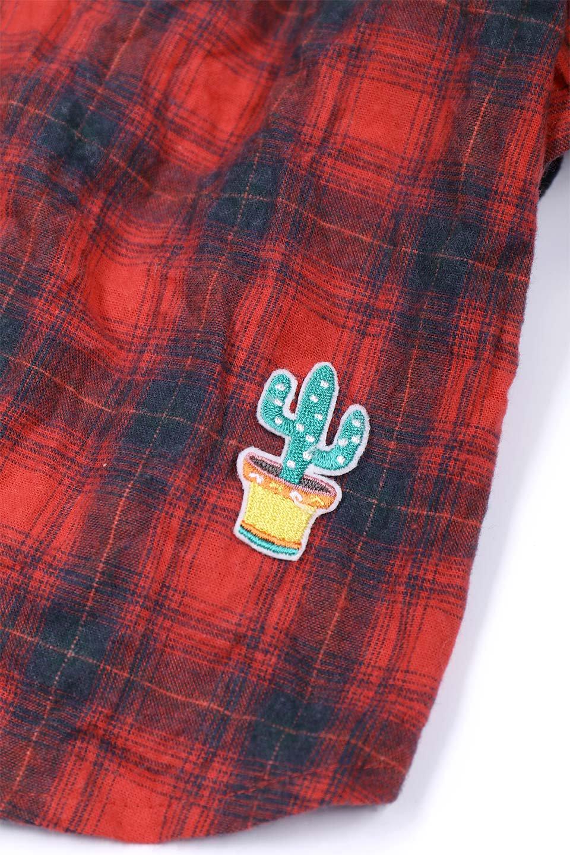 CaliforniaCactusDogShirtsカリフォルニア・ドッグシャツ大人カジュアルに最適な海外ファッションのothers(その他インポートアイテム)のドッググッズや。アメカジテイストのワンちゃん用チェックシャツ。洗いざらしのシワも気にならないカジュアルなチェックシャツ。/main-14
