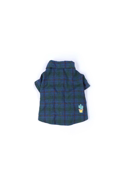 CaliforniaCactusDogShirtsカリフォルニア・ドッグシャツ大人カジュアルに最適な海外ファッションのothers(その他インポートアイテム)のドッググッズや。アメカジテイストのワンちゃん用チェックシャツ。洗いざらしのシワも気にならないカジュアルなチェックシャツ。/main-15