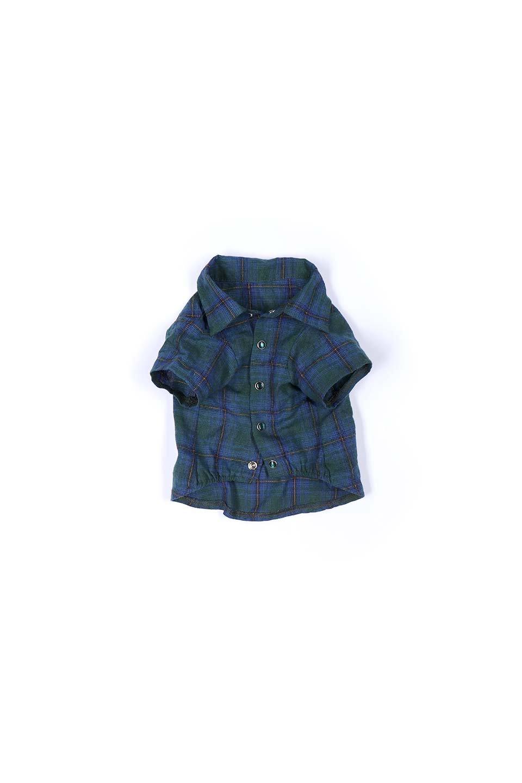 CaliforniaCactusDogShirtsカリフォルニア・ドッグシャツ大人カジュアルに最適な海外ファッションのothers(その他インポートアイテム)のドッググッズや。アメカジテイストのワンちゃん用チェックシャツ。洗いざらしのシワも気にならないカジュアルなチェックシャツ。/main-16