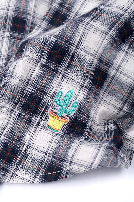 CaliforniaCactusDogShirtsカリフォルニア・ドッグシャツ大人カジュアルに最適な海外ファッションのothers(その他インポートアイテム)のドッググッズや。アメカジテイストのワンちゃん用チェックシャツ。洗いざらしのシワも気にならないカジュアルなチェックシャツ。/main-6