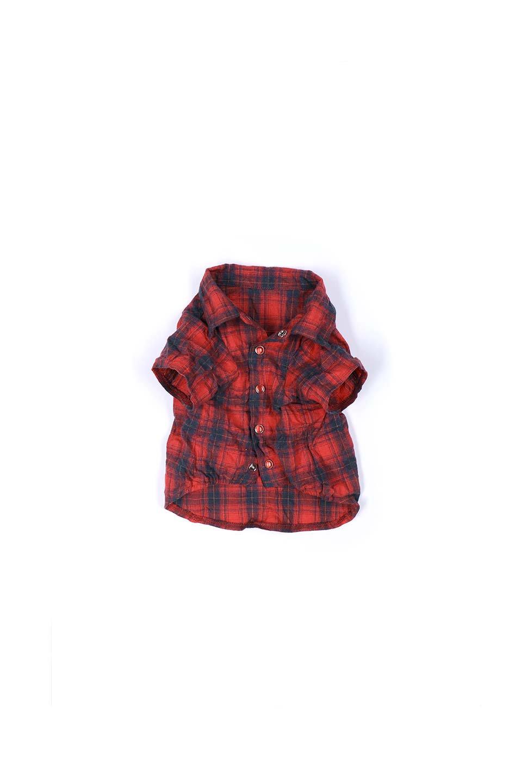 CaliforniaCactusDogShirtsカリフォルニア・ドッグシャツ大人カジュアルに最適な海外ファッションのothers(その他インポートアイテム)のドッググッズや。アメカジテイストのワンちゃん用チェックシャツ。洗いざらしのシワも気にならないカジュアルなチェックシャツ。/main-7