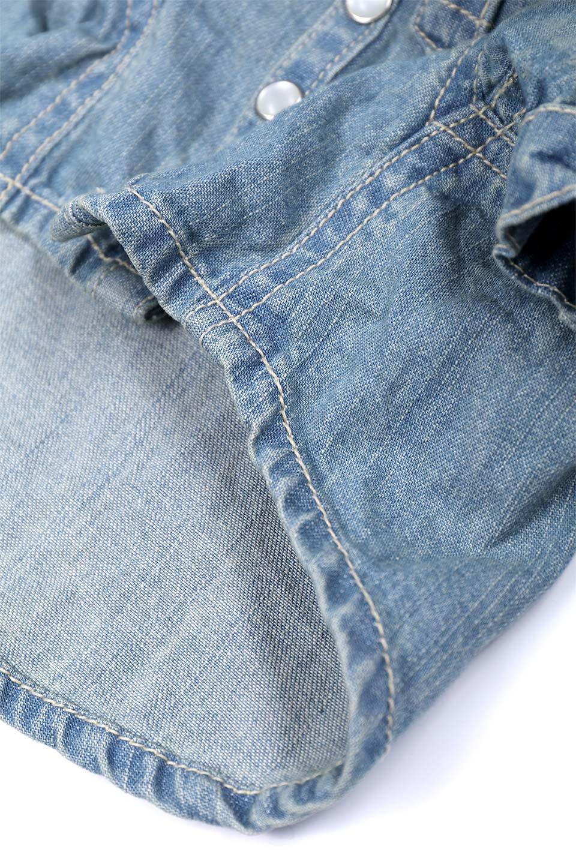 CaliforniaCactusDogDenimShirtsカリフォルニア・ドッグデニムシャツ大人カジュアルに最適な海外ファッションのothers(その他インポートアイテム)のドッググッズや。本格的な作りのデニム・ウエスタンシャツ。胸のヨークもパールのスナップボタンも人のシャツ顔負けのディテールです。/main-7
