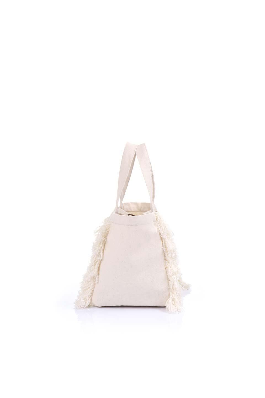 FringeMiniToteBagフリンジミニトートバッグ大人カジュアルに最適な海外ファッションのothers(その他インポートアイテム)のドッググッズや。犬の散歩用フリンジミニトートバッグ。犬の散歩に丁度良いサイズのばっぐです。/main-13