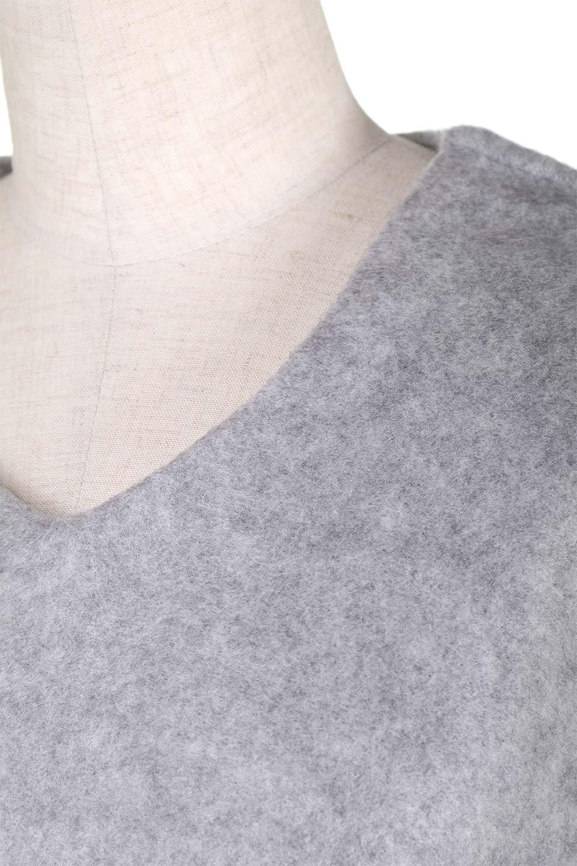 BellSleeveV-neckknitTopスライバーニット風トップス大人カジュアルに最適な海外ファッションのothers(その他インポートアイテム)のトップスやカットソー。スライバーニット風の素材が心地よい着回しやすいVネックトップス。おすすめポイントは何と言っても肌触り。/main-18