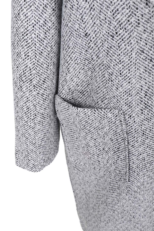 TweedHerringboneChesterCoatツイードヘリンボーン・チェスターコート大人カジュアルに最適な海外ファッションのothers(その他インポートアイテム)のアウターやコート。定番シルエットで大人気のチェスターコート。ミックス色のツイードコートは冬コーデのお役立ちアイテム。/main-14