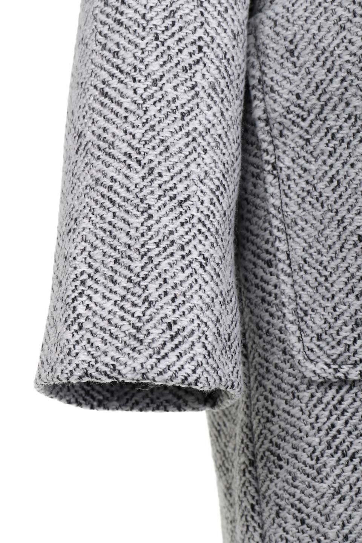TweedHerringboneChesterCoatツイードヘリンボーン・チェスターコート大人カジュアルに最適な海外ファッションのothers(その他インポートアイテム)のアウターやコート。定番シルエットで大人気のチェスターコート。ミックス色のツイードコートは冬コーデのお役立ちアイテム。/main-15