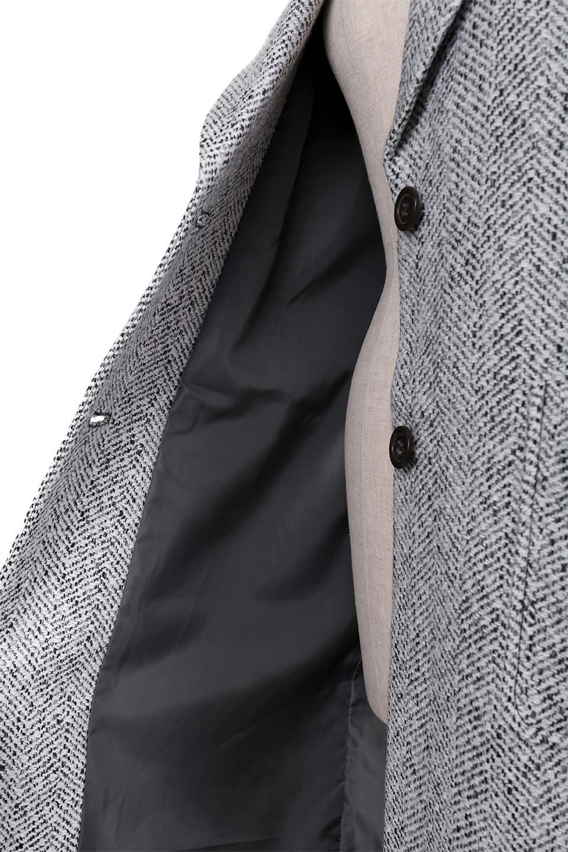 TweedHerringboneChesterCoatツイードヘリンボーン・チェスターコート大人カジュアルに最適な海外ファッションのothers(その他インポートアイテム)のアウターやコート。定番シルエットで大人気のチェスターコート。ミックス色のツイードコートは冬コーデのお役立ちアイテム。/main-17