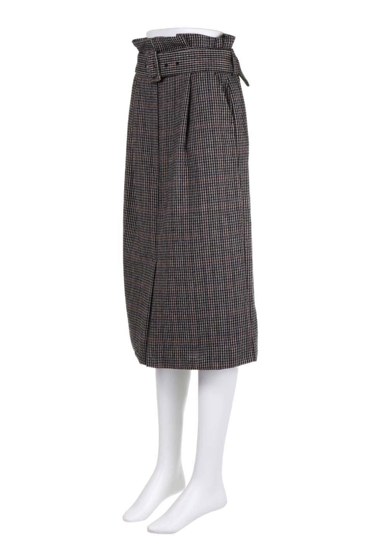 GunclubcheckHighWaistSkirtガンクラブチェックスカート大人カジュアルに最適な海外ファッションのothers(その他インポートアイテム)のボトムやスカート。今季注目のガンクラブチェックのハイウエストスカート。グレンチェック同様英国の雰囲気が漂うガンクラブチェックは、シックで落ち着いたコーディネートにピッタリな柄です。/main-11
