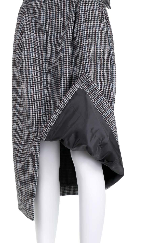GunclubcheckHighWaistSkirtガンクラブチェックスカート大人カジュアルに最適な海外ファッションのothers(その他インポートアイテム)のボトムやスカート。今季注目のガンクラブチェックのハイウエストスカート。グレンチェック同様英国の雰囲気が漂うガンクラブチェックは、シックで落ち着いたコーディネートにピッタリな柄です。/main-20