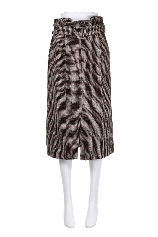 GunclubcheckHighWaistSkirtガンクラブチェックスカート大人カジュアルに最適な海外ファッションのothers(その他インポートアイテム)のボトムやスカート。今季注目のガンクラブチェックのハイウエストスカート。グレンチェック同様英国の雰囲気が漂うガンクラブチェックは、シックで落ち着いたコーディネートにピッタリな柄です。/main-5