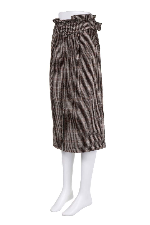 GunclubcheckHighWaistSkirtガンクラブチェックスカート大人カジュアルに最適な海外ファッションのothers(その他インポートアイテム)のボトムやスカート。今季注目のガンクラブチェックのハイウエストスカート。グレンチェック同様英国の雰囲気が漂うガンクラブチェックは、シックで落ち着いたコーディネートにピッタリな柄です。/main-6