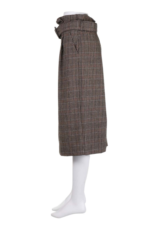 GunclubcheckHighWaistSkirtガンクラブチェックスカート大人カジュアルに最適な海外ファッションのothers(その他インポートアイテム)のボトムやスカート。今季注目のガンクラブチェックのハイウエストスカート。グレンチェック同様英国の雰囲気が漂うガンクラブチェックは、シックで落ち着いたコーディネートにピッタリな柄です。/main-7
