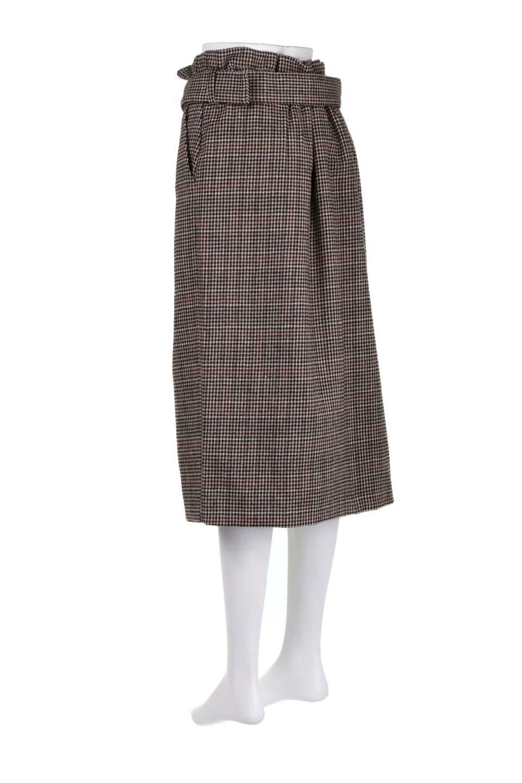 GunclubcheckHighWaistSkirtガンクラブチェックスカート大人カジュアルに最適な海外ファッションのothers(その他インポートアイテム)のボトムやスカート。今季注目のガンクラブチェックのハイウエストスカート。グレンチェック同様英国の雰囲気が漂うガンクラブチェックは、シックで落ち着いたコーディネートにピッタリな柄です。/main-8