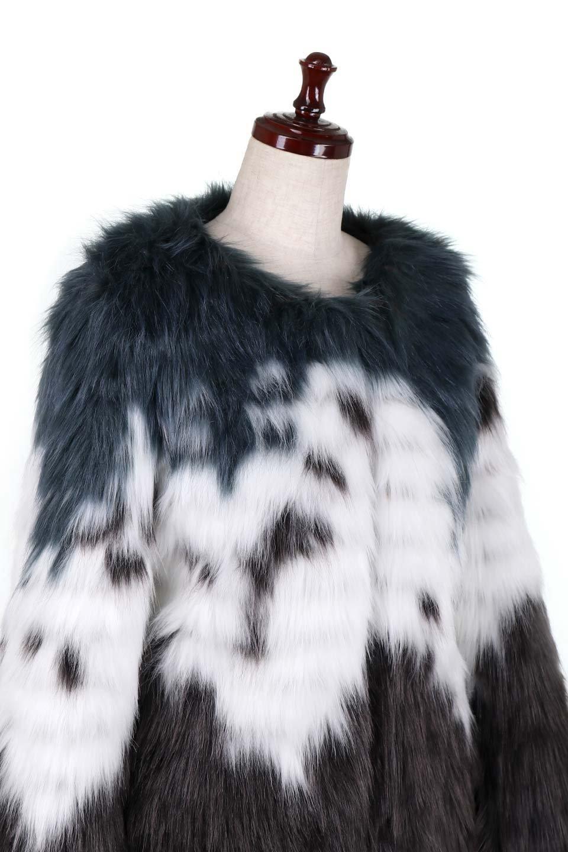 LongHairyShaggyEcoFurCoatロングシャギー・エコファーコート大人カジュアルに最適な海外ファッションのothers(その他インポートアイテム)のアウターやコート。綺麗なカラーリングのあたたかエコファー(フェイクファー)コート。ナチュラルなカラーより今年はこんな感じの人工的なカラーリングが断然オススメ。/main-5