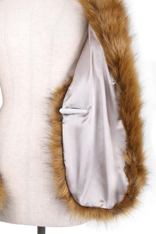EcoFurCollarLongShawlエコファー・ロングティペット大人カジュアルに最適な海外ファッションのothers(その他インポートアイテム)のハット&キャップや。ふっくら肉厚なエコファーのロングティペット。フワッフワでボリューミーなのエコファーは肌触りも良くゴージャスな可愛さをプラスしてくれます。/main-11