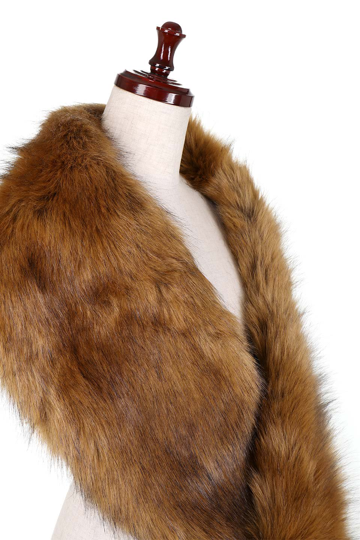 EcoFurCollarLongShawlエコファー・ロングティペット大人カジュアルに最適な海外ファッションのothers(その他インポートアイテム)のハット&キャップや。ふっくら肉厚なエコファーのロングティペット。フワッフワでボリューミーなのエコファーは肌触りも良くゴージャスな可愛さをプラスしてくれます。/main-5