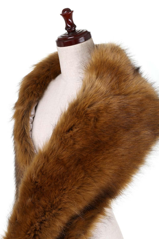 EcoFurCollarLongShawlエコファー・ロングティペット大人カジュアルに最適な海外ファッションのothers(その他インポートアイテム)のハット&キャップや。ふっくら肉厚なエコファーのロングティペット。フワッフワでボリューミーなのエコファーは肌触りも良くゴージャスな可愛さをプラスしてくれます。/main-6