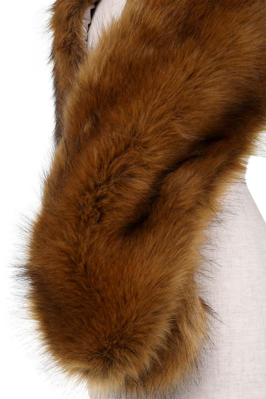 EcoFurCollarLongShawlエコファー・ロングティペット大人カジュアルに最適な海外ファッションのothers(その他インポートアイテム)のハット&キャップや。ふっくら肉厚なエコファーのロングティペット。フワッフワでボリューミーなのエコファーは肌触りも良くゴージャスな可愛さをプラスしてくれます。/main-8