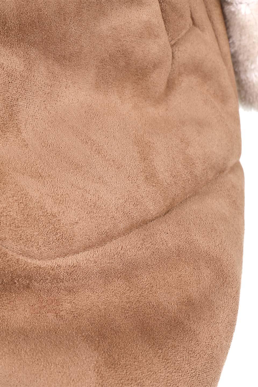 FauxShearlingHoodedCoatフード付きムートンコート大人カジュアルに最適な海外ファッションのothers(その他インポートアイテム)のアウターやコート。ふわふわ裏地が気持ち良いフェイクムートンのフード付きコート。表地は風を通しにくく、裏地は空気を包むファーでぬくぬくのコートです。/main-16