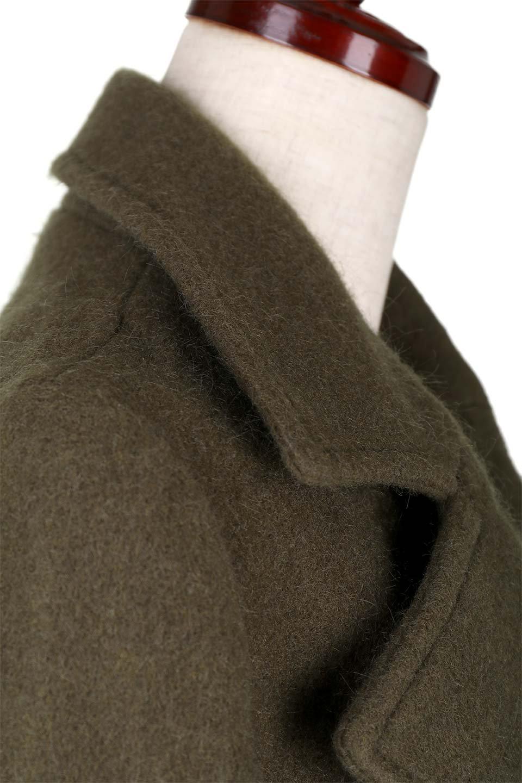 DoubleBreastedWoolenCoatウール混スリムロングコート大人カジュアルに最適な海外ファッションのothers(その他インポートアイテム)のアウターやコート。ウール混で暖かいスリムなシルエットのトレンチコート。最近はオーバーサイズなコートばかりですが、スリムなコートを探していた方も多いはず。/main-8