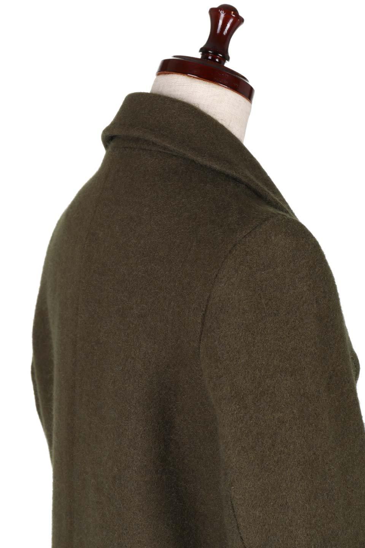 DoubleBreastedWoolenCoatウール混スリムロングコート大人カジュアルに最適な海外ファッションのothers(その他インポートアイテム)のアウターやコート。ウール混で暖かいスリムなシルエットのトレンチコート。最近はオーバーサイズなコートばかりですが、スリムなコートを探していた方も多いはず。/main-9