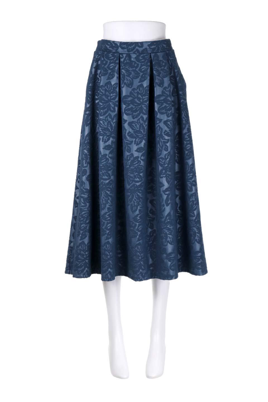 FloralEmbossingFlaredSpringSkirt花柄エンボス・フレアスカート大人カジュアルに最適な海外ファッションのothers(その他インポートアイテム)のボトムやスカート。花柄エンボス加工が印象的なミディスカート。大人気のスカートが春の新色を追加して新登場。/main-10