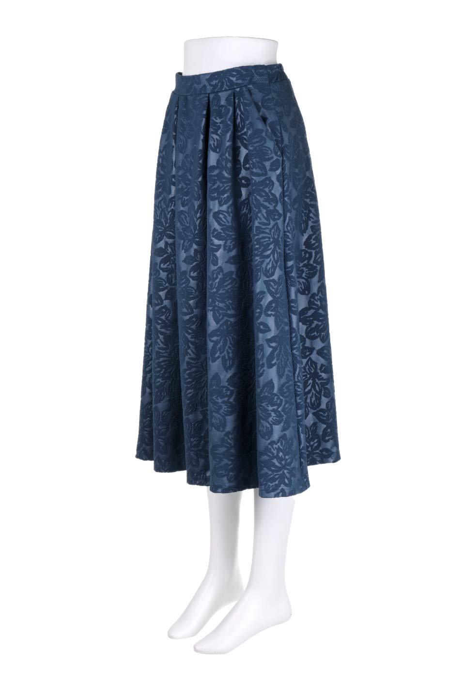 FloralEmbossingFlaredSpringSkirt花柄エンボス・フレアスカート大人カジュアルに最適な海外ファッションのothers(その他インポートアイテム)のボトムやスカート。花柄エンボス加工が印象的なミディスカート。大人気のスカートが春の新色を追加して新登場。/main-11