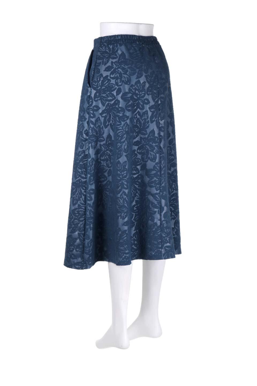 FloralEmbossingFlaredSpringSkirt花柄エンボス・フレアスカート大人カジュアルに最適な海外ファッションのothers(その他インポートアイテム)のボトムやスカート。花柄エンボス加工が印象的なミディスカート。大人気のスカートが春の新色を追加して新登場。/main-13