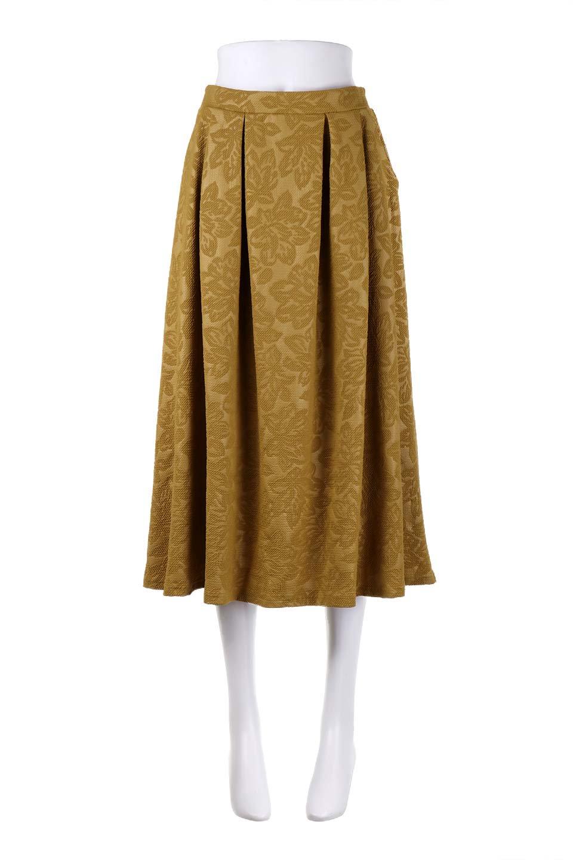 FloralEmbossingFlaredSpringSkirt花柄エンボス・フレアスカート大人カジュアルに最適な海外ファッションのothers(その他インポートアイテム)のボトムやスカート。花柄エンボス加工が印象的なミディスカート。大人気のスカートが春の新色を追加して新登場。/main-15