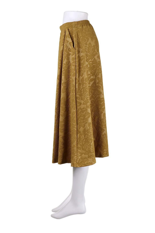 FloralEmbossingFlaredSpringSkirt花柄エンボス・フレアスカート大人カジュアルに最適な海外ファッションのothers(その他インポートアイテム)のボトムやスカート。花柄エンボス加工が印象的なミディスカート。大人気のスカートが春の新色を追加して新登場。/main-17
