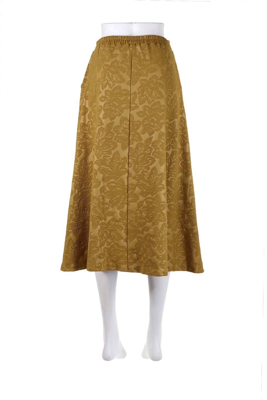 FloralEmbossingFlaredSpringSkirt花柄エンボス・フレアスカート大人カジュアルに最適な海外ファッションのothers(その他インポートアイテム)のボトムやスカート。花柄エンボス加工が印象的なミディスカート。大人気のスカートが春の新色を追加して新登場。/main-19