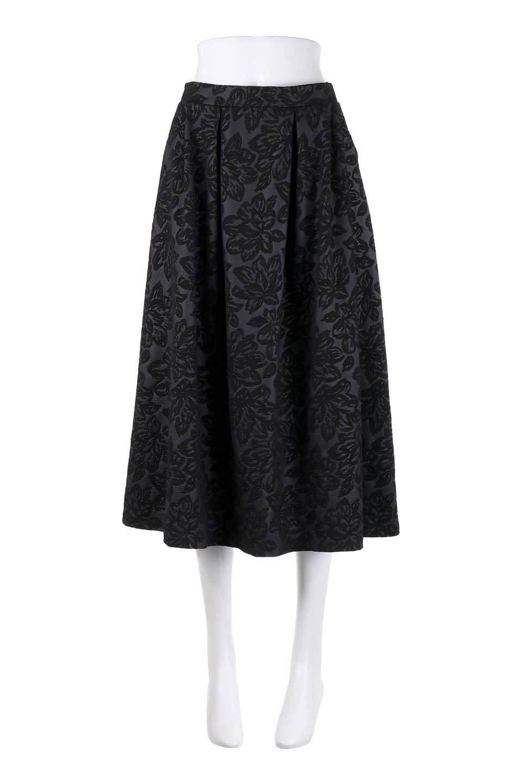 FloralEmbossingFlaredSpringSkirt花柄エンボス・フレアスカート大人カジュアルに最適な海外ファッションのothers(その他インポートアイテム)のボトムやスカート。花柄エンボス加工が印象的なミディスカート。大人気のスカートが春の新色を追加して新登場。/main-20