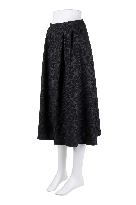FloralEmbossingFlaredSpringSkirt花柄エンボス・フレアスカート大人カジュアルに最適な海外ファッションのothers(その他インポートアイテム)のボトムやスカート。花柄エンボス加工が印象的なミディスカート。大人気のスカートが春の新色を追加して新登場。/main-21