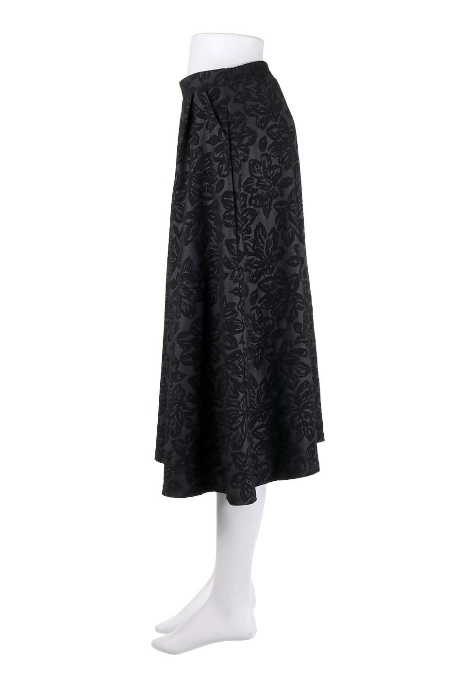FloralEmbossingFlaredSpringSkirt花柄エンボス・フレアスカート大人カジュアルに最適な海外ファッションのothers(その他インポートアイテム)のボトムやスカート。花柄エンボス加工が印象的なミディスカート。大人気のスカートが春の新色を追加して新登場。/main-22