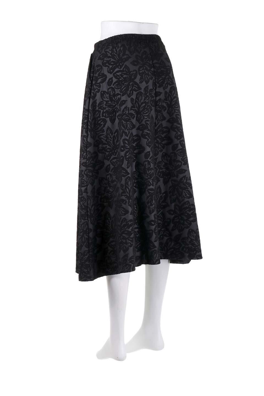 FloralEmbossingFlaredSpringSkirt花柄エンボス・フレアスカート大人カジュアルに最適な海外ファッションのothers(その他インポートアイテム)のボトムやスカート。花柄エンボス加工が印象的なミディスカート。大人気のスカートが春の新色を追加して新登場。/main-23
