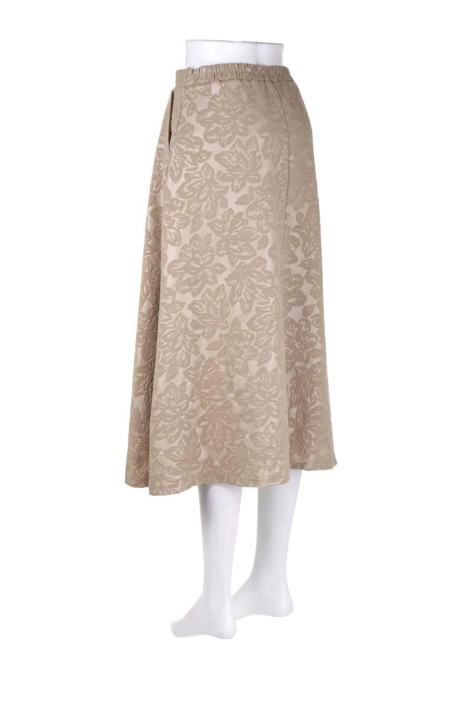 FloralEmbossingFlaredSpringSkirt花柄エンボス・フレアスカート大人カジュアルに最適な海外ファッションのothers(その他インポートアイテム)のボトムやスカート。花柄エンボス加工が印象的なミディスカート。大人気のスカートが春の新色を追加して新登場。/main-8