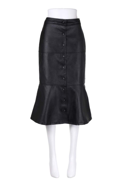 EcoLeatherMermaidSkirtレザー・マーメイドスカート大人カジュアルに最適な海外ファッションのothers(その他インポートアイテム)のボトムやスカート。エレガントなシルエットのレーザースカート。大人っぽいシックなコーデが思い切り楽しめるアイテム。/main-10