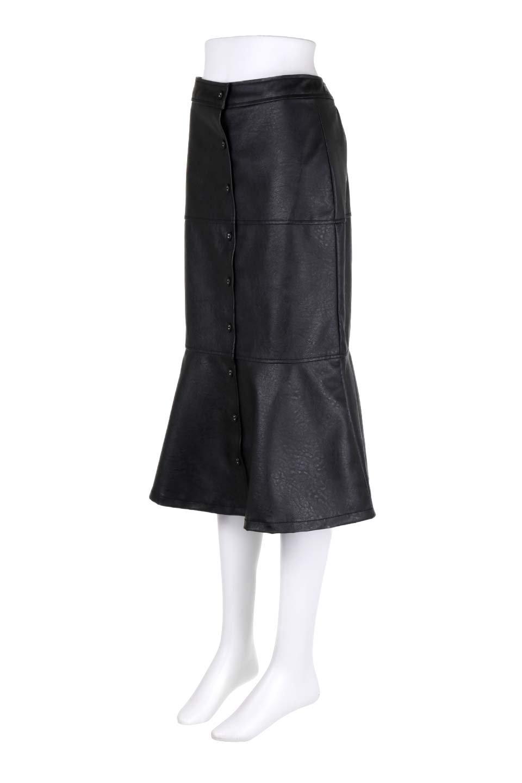 EcoLeatherMermaidSkirtレザー・マーメイドスカート大人カジュアルに最適な海外ファッションのothers(その他インポートアイテム)のボトムやスカート。エレガントなシルエットのレーザースカート。大人っぽいシックなコーデが思い切り楽しめるアイテム。/main-11