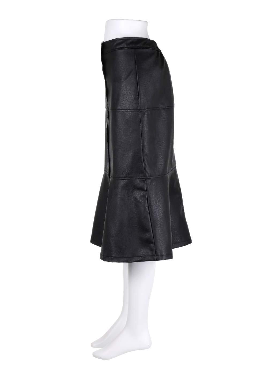 EcoLeatherMermaidSkirtレザー・マーメイドスカート大人カジュアルに最適な海外ファッションのothers(その他インポートアイテム)のボトムやスカート。エレガントなシルエットのレーザースカート。大人っぽいシックなコーデが思い切り楽しめるアイテム。/main-12