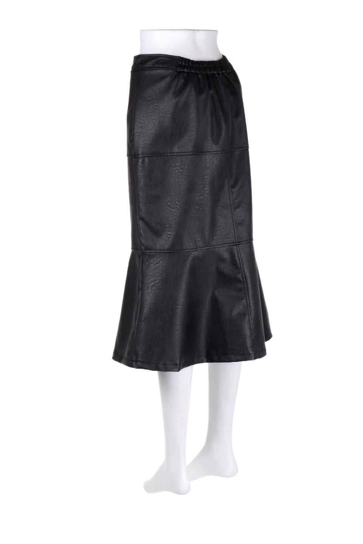 EcoLeatherMermaidSkirtレザー・マーメイドスカート大人カジュアルに最適な海外ファッションのothers(その他インポートアイテム)のボトムやスカート。エレガントなシルエットのレーザースカート。大人っぽいシックなコーデが思い切り楽しめるアイテム。/main-13