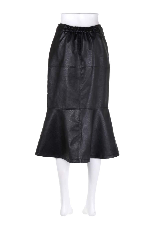 EcoLeatherMermaidSkirtレザー・マーメイドスカート大人カジュアルに最適な海外ファッションのothers(その他インポートアイテム)のボトムやスカート。エレガントなシルエットのレーザースカート。大人っぽいシックなコーデが思い切り楽しめるアイテム。/main-14