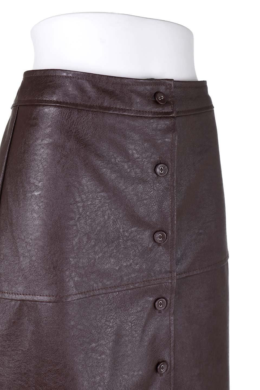 EcoLeatherMermaidSkirtレザー・マーメイドスカート大人カジュアルに最適な海外ファッションのothers(その他インポートアイテム)のボトムやスカート。エレガントなシルエットのレーザースカート。大人っぽいシックなコーデが思い切り楽しめるアイテム。/main-17