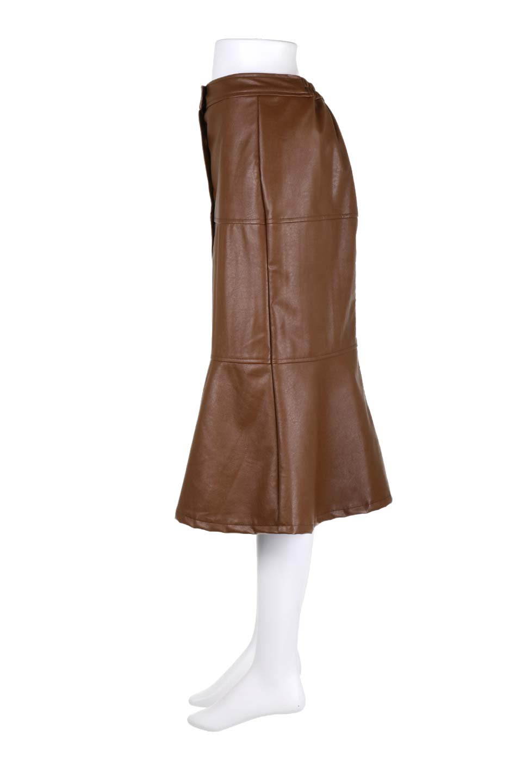 EcoLeatherMermaidSkirtレザー・マーメイドスカート大人カジュアルに最適な海外ファッションのothers(その他インポートアイテム)のボトムやスカート。エレガントなシルエットのレーザースカート。大人っぽいシックなコーデが思い切り楽しめるアイテム。/main-7