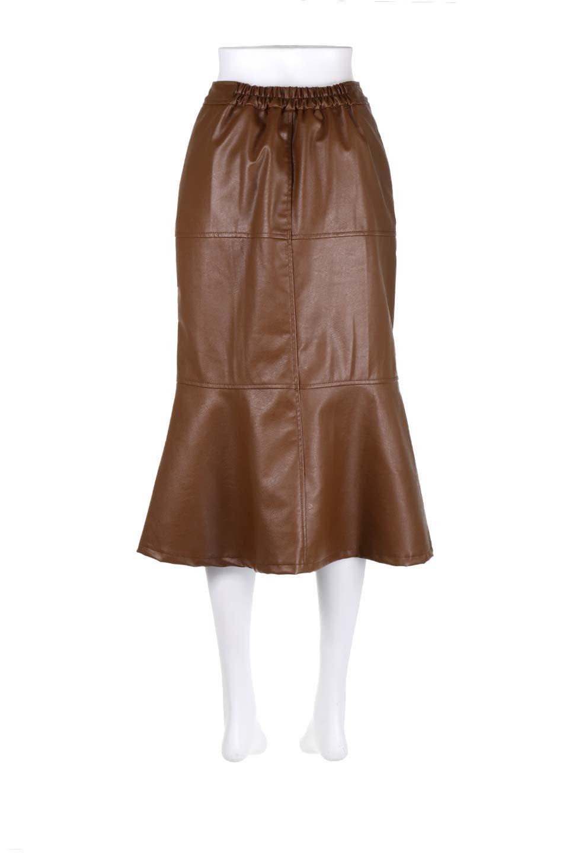 EcoLeatherMermaidSkirtレザー・マーメイドスカート大人カジュアルに最適な海外ファッションのothers(その他インポートアイテム)のボトムやスカート。エレガントなシルエットのレーザースカート。大人っぽいシックなコーデが思い切り楽しめるアイテム。/main-9